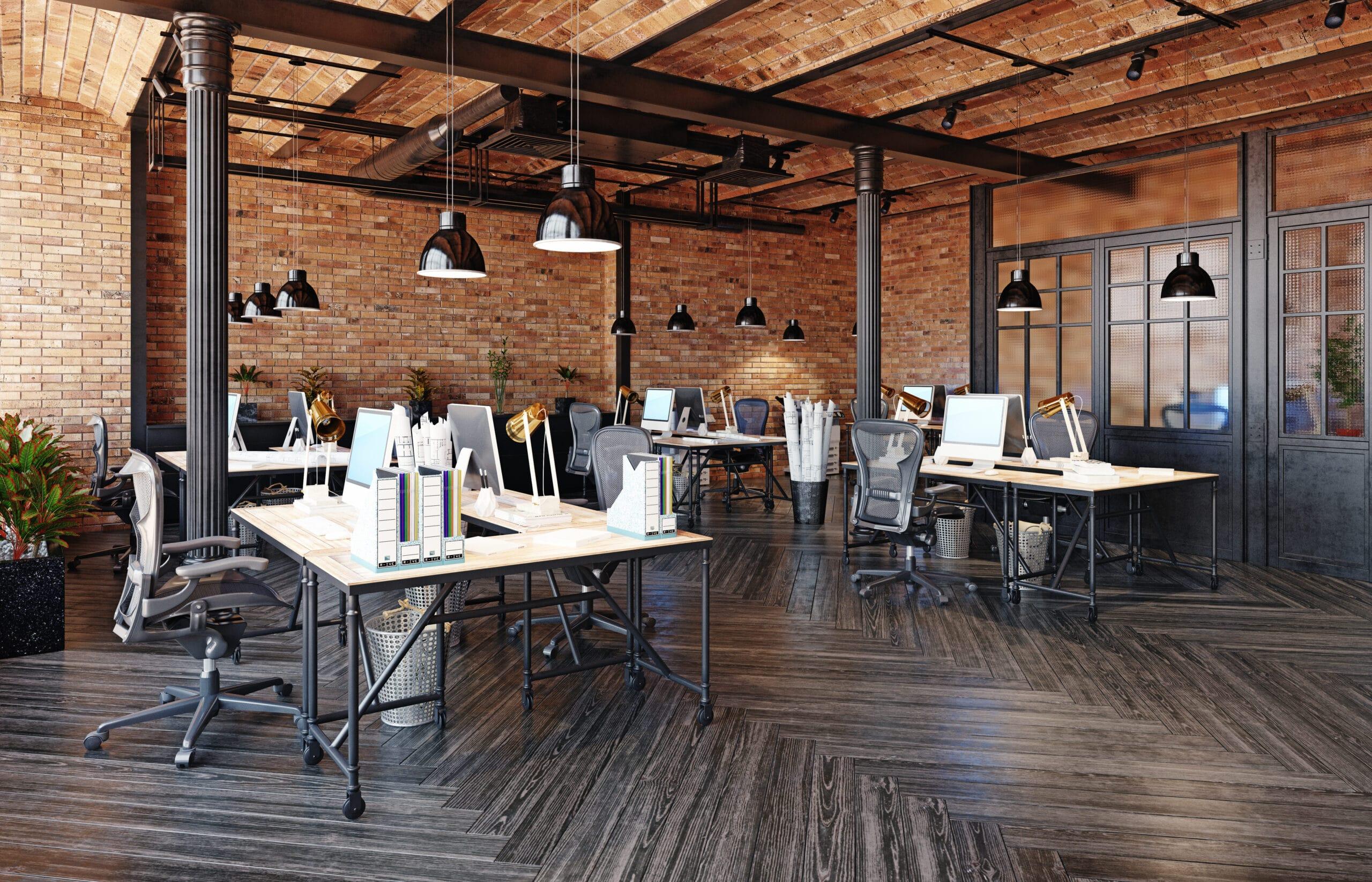 oficina industrial moderna