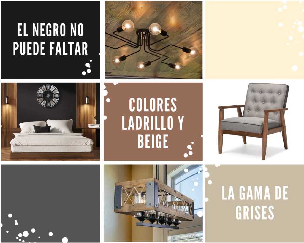 Colores moderno industrial