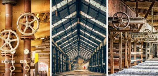 Viejas fabricas industriales