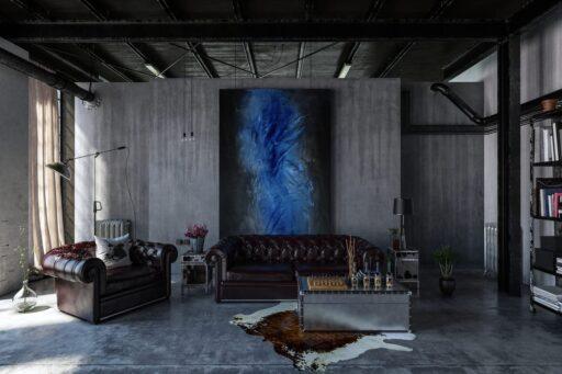 decoracion loft industrial