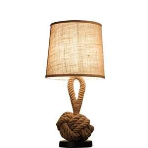 lampara de mesa estilo industrial para habitacion