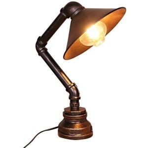 lampara mesa industrial retro