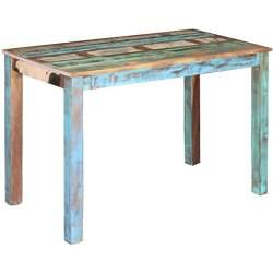 mesa de comedor industrial vintage