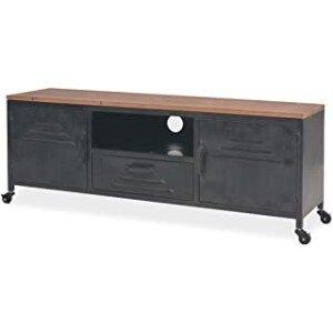 mueble tv industrial vintage
