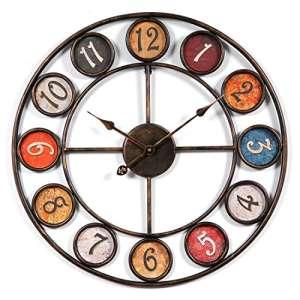 reloj industrial vintage