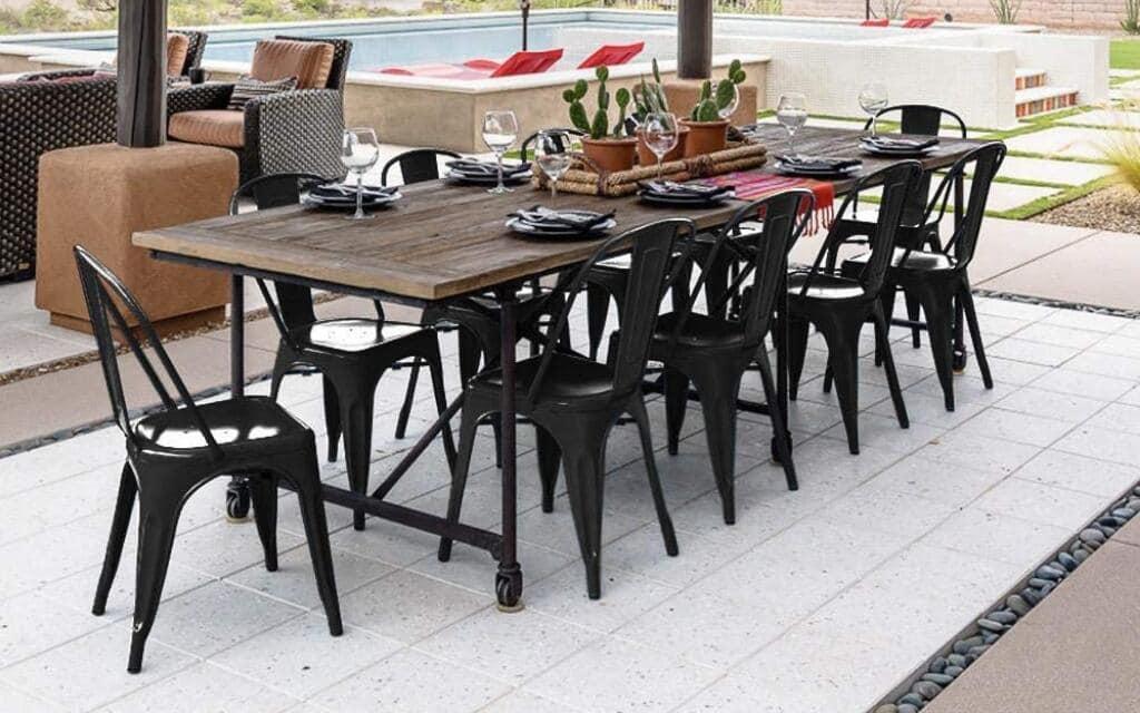 sillas estilo industrial