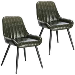 sillas de cuero estilo industrial