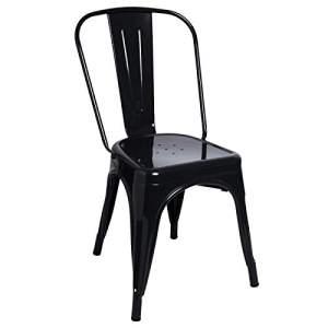 sillas de metal estilo industrial