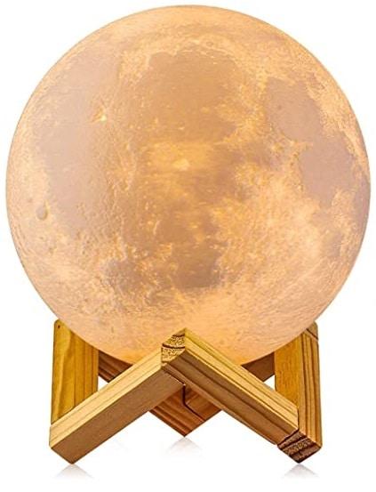 ¡Decora tu Hogar con una Lámpara de Luna 3D!