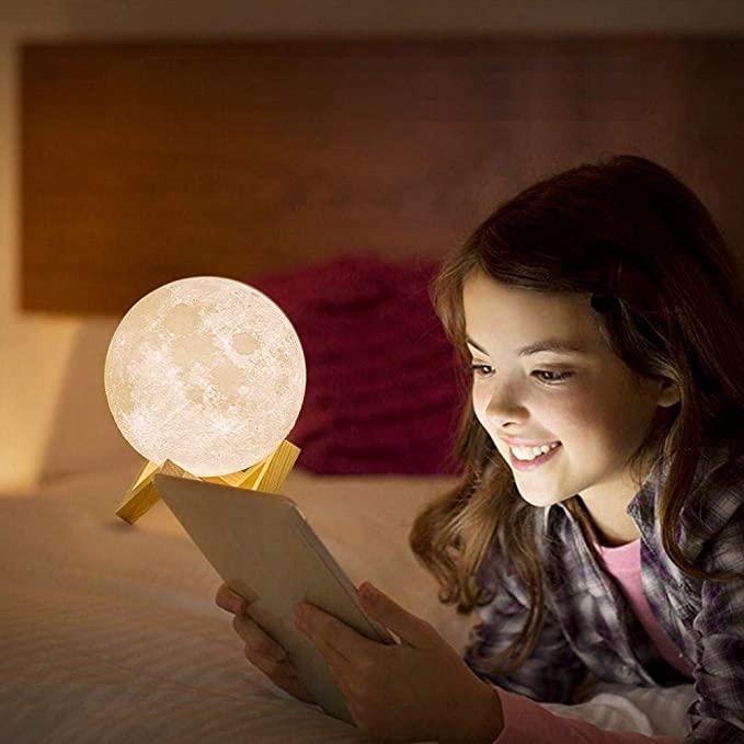lampara luna para dormir
