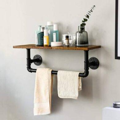 accesorios para baño estilo industrial