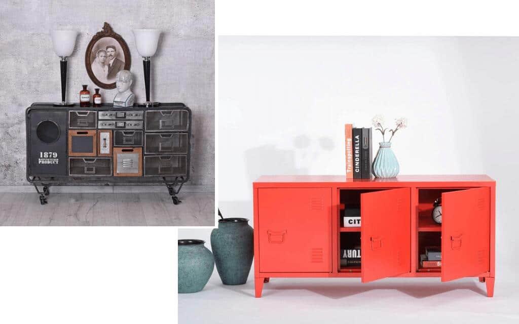 armarios industriales de colores