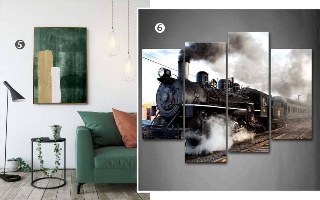 cuadros estilo industrial