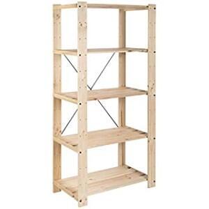 estanteria industrial madera