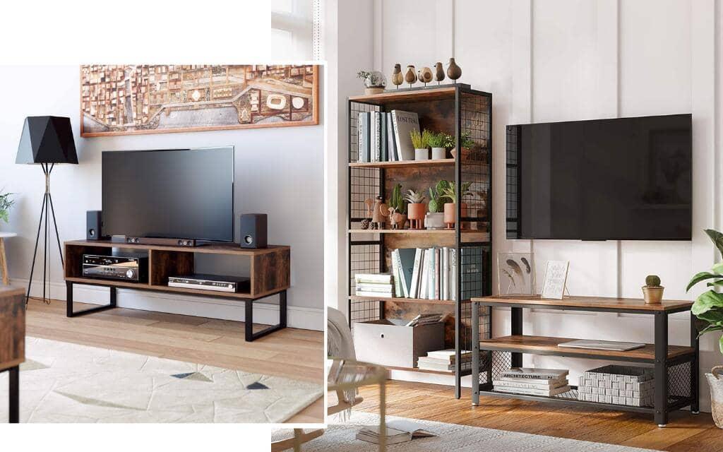 mueble tv industrial