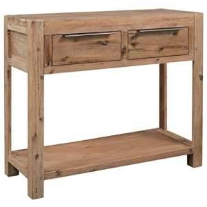 recibidor rustico madera