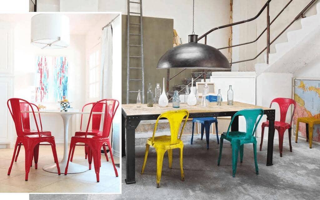 silla industrial tolix