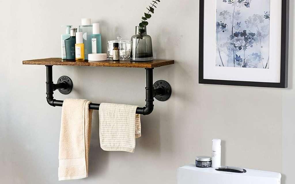 toallero estilo industrial