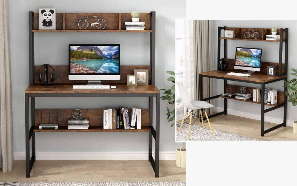 escritorio estilo industrial