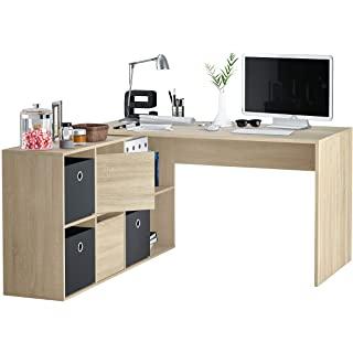 escritorio industrial de madera 02
