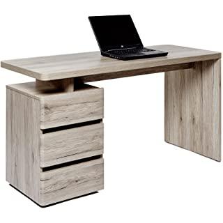 escritorio industrial de madera 07