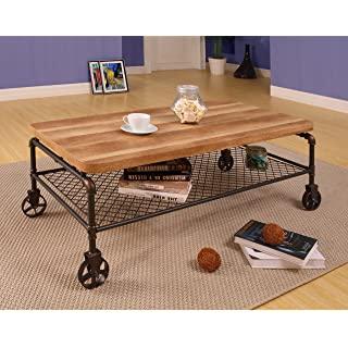 mesa de centro estilo industrial 03