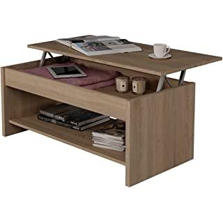 mesa de centro industrial elevable 10