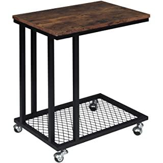 mesa de centro industrial con ruedas 02