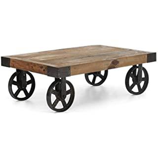 mesa de centro industrial con ruedas 06