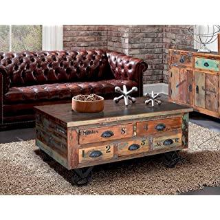 mesa de centro industrial vintage 08
