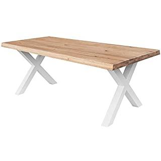 mesa de centro industrial blanca 02