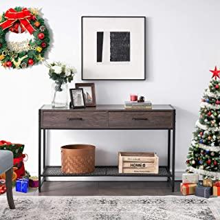 mueble para tv metal madera 10