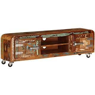 mueble para tv industrial vintage 02