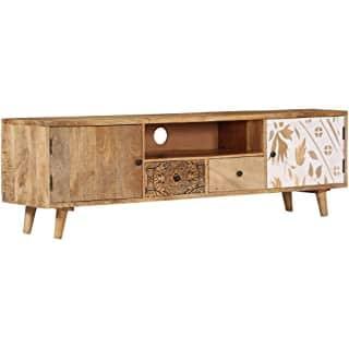 mueble para tv industrial vintage 09