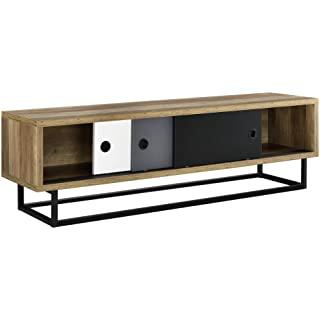 mueble para tv industrial vintage 06