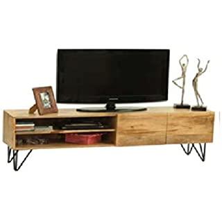 mueble para tv industrial vintage 10
