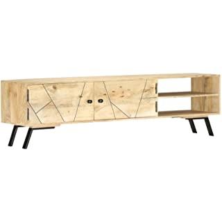 mueble para tv industrial rustico 09