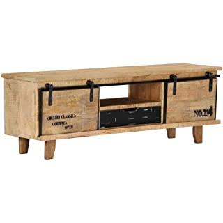 mueble para tv industrial madera 02