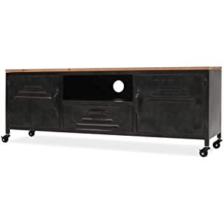 mueble para tv industrial metal 04