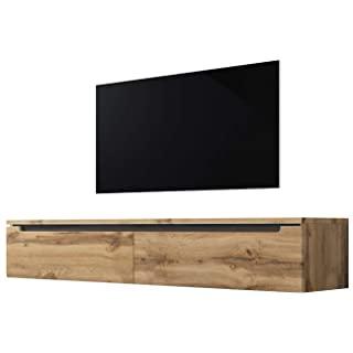 mueble para tv industrial madera 04