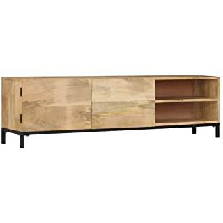 mueble para tv industrial madera 05