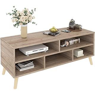 mueble para tv industrial madera 07
