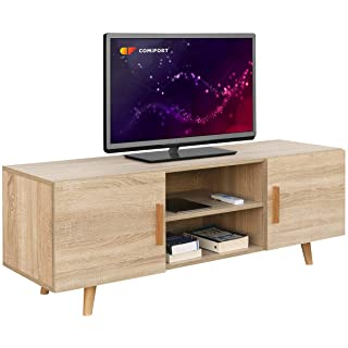 mueble para tv industrial madera 06