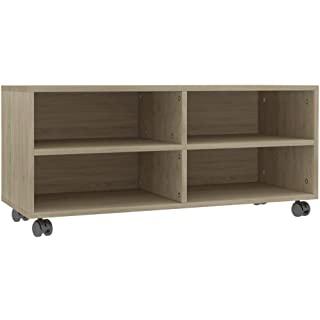 mueble para tv industrial con ruedas 05