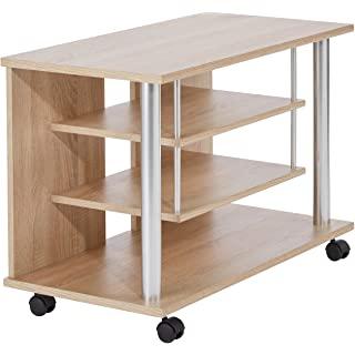 mueble para tv industrial con ruedas 06