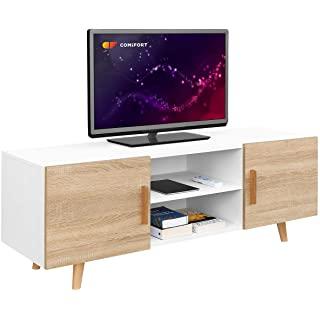 mueble para tv industrial blanco 02
