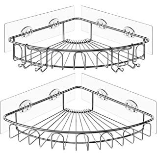 Estante Esquinero para Baños Estilo Industrial 08