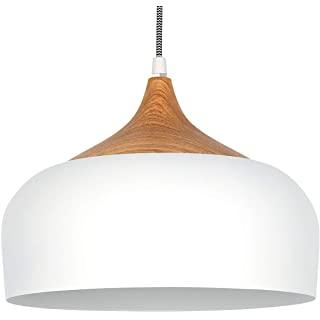 lampara de techo blanca industrial 02