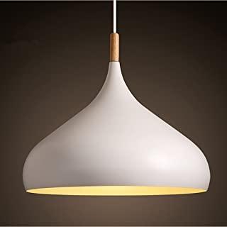 lampara de techo blanca industrial 07