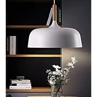 lampara de techo blanca industrial 08